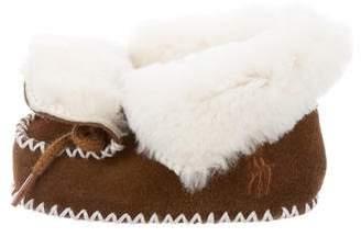 Ralph Lauren Toddlers' Shearling Booties