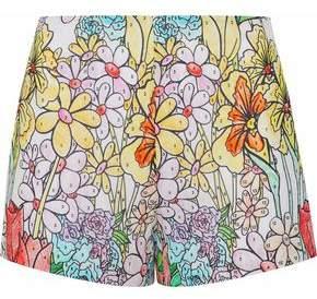 Moschino Printed Cotton-Gauze Shorts
