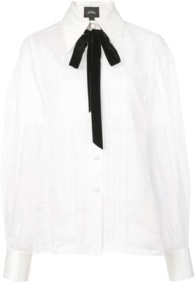 Marc Jacobs bow-tie detail blouse