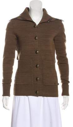Burberry Knit Button-Up Cardigan