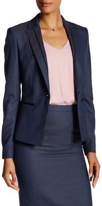 BOSS HUGO BOSS Jinea Wool Blend Blazer Jacket $625 thestylecure.com
