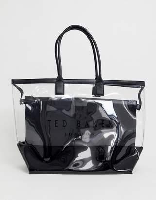 Ted Baker Dorrys transparent shopper bag