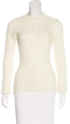MM6 MAISON MARGIELA MM6 by Maison Martin Margiela Wool-Blend Rib Knit Sweater