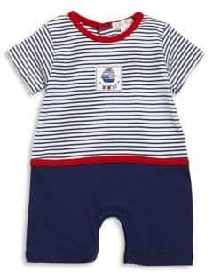 Kissy Kissy Baby Boy's Seven Seas Cotton Playsuit