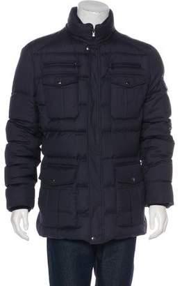 Brunello Cucinelli Wool & Silk Down Coat