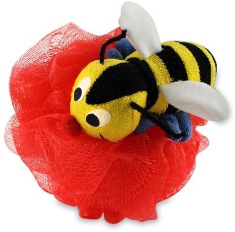 Kingsley Bumble Bee Nylon Mesh Scrubber