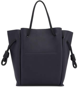 Loewe Black Medium Flamenco Knot Tote Bag