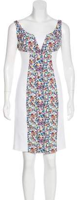 Versace Printed Bodycon Dress