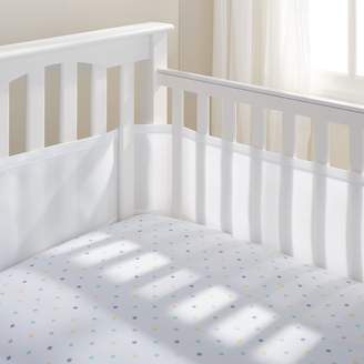 BreathableBaby Breathable Baby 12111 Safer Bumper, Fits All Cribs