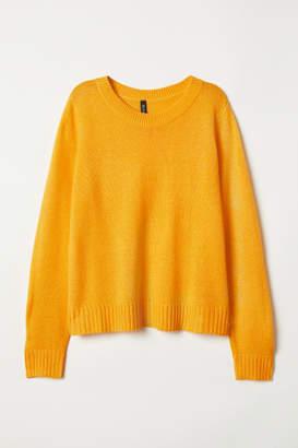 H&M Knit Sweater - Yellow