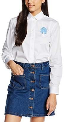 Peter Jensen Women's Peter Pan Collar Shirt,(Manufacturer Size:Medium)