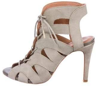 Joie Suede Cage Sandals