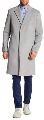 Theory Bower Melton Wool Blend Topcoat