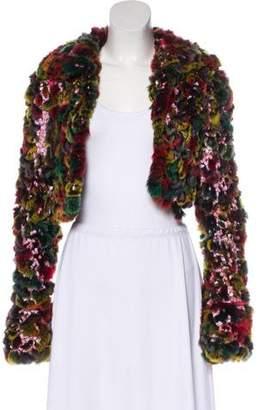 Fendi Knitted Fur Jacket