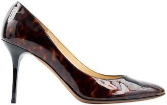 Jimmy Choo Brown Patent leather Heels