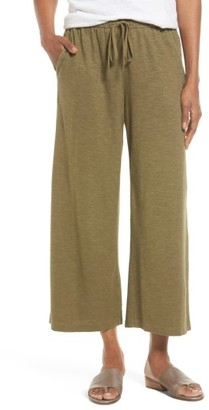 Women's Eileen Fisher Hemp & Organic Cotton Wide Leg Pants $148 thestylecure.com