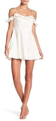 Lovers + Friends Kate Lace Cold Shoulder Dress
