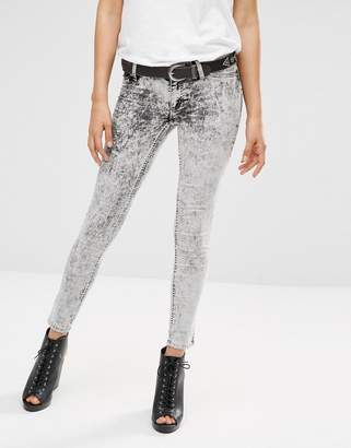 Cheap Monday Low Spray Skinny Jeans