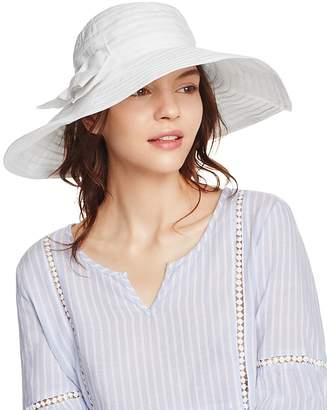 Aqua Ribbon Floppy Sun Hat with Bow - 100% Exclusive