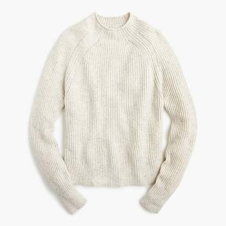 J.Crew Donegal wool pullover mockneck sweater