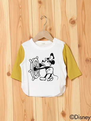 Disney (ディズニー) - DISNEY 7分袖T ナルミヤオンライン カットソー