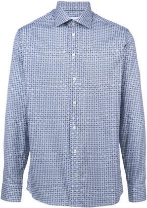 Eton longsleeved printed shirt