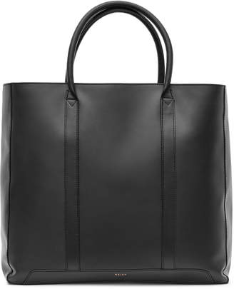 Reiss Runner Leather Tote Bag