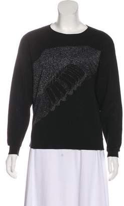 Prabal Gurung Embroidered Long Sleeve Sweater