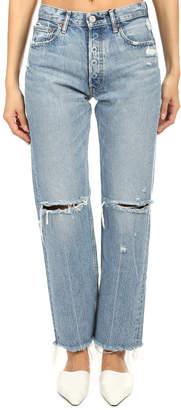 Moussy Vintage Viola Wide Straight Jean