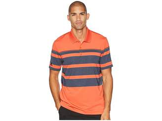 adidas Ultimate Engineered Stripe Polo Men's Clothing