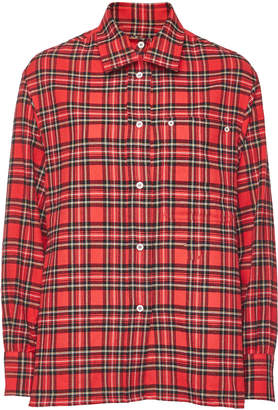Golden Goose Checked Cotton Shirt