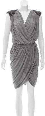 Robert Rodriguez Embellished Midi Dress