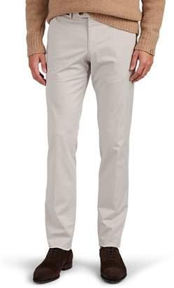 Hiltl Men's Cotton Twill Slim Trousers
