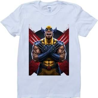 Wolverine Brain Dump Tees Logan, Custom Made T-Shirt