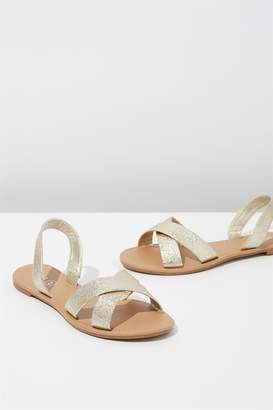 Cotton On Rubi Everyday Banting Crossover Sandal