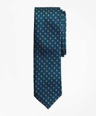 Brooks Brothers Textured Floral Neat Silk Jacquard Tie