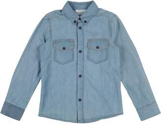 Frankie Morello Denim shirts - Item 42708978AC