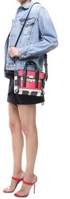 3.1 Phillip Lim Mini Pashli Striped Smooth-leather Cross-body Bag
