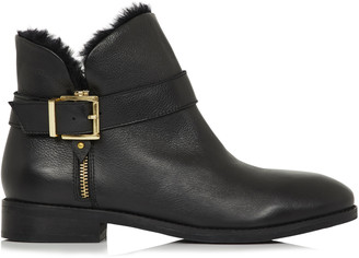Long Tall Sally LTS Abigail Leather Ankle Boot