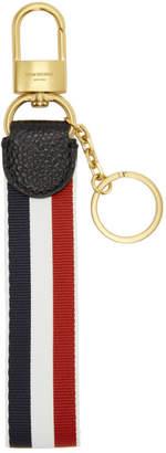 Thom Browne Tricolor Grosgrain Keychain