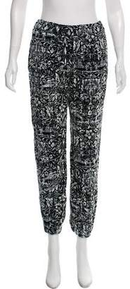 Chanel Patterned Mid-Rise Joggers