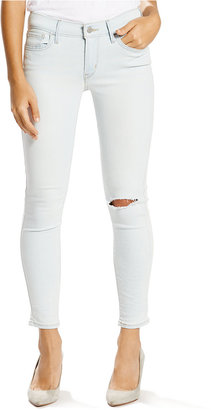Levi's® 710 Super Skinny Ankle Jeans $54.50 thestylecure.com