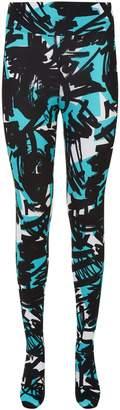 Burberry Graffiti Sock Leggings