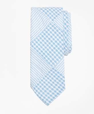 Brooks Brothers Patchwork Seersucker Tie