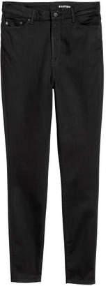 H&M H&M+ Shaping Skinny High Jeans - Black
