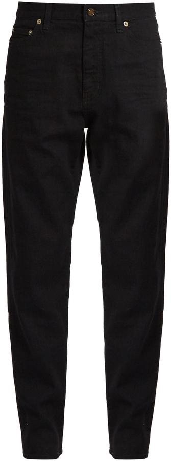 Saint LaurentSAINT LAURENT Low-slung boyfriend jeans