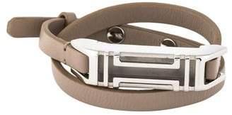 Tory Burch x Fitbit Leather Double Wrap Bracelet