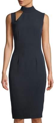 Alexia Admor Cutout Mock-Neck Sheath Dress