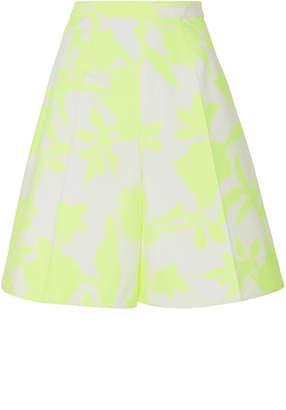 DELPOZO Floral Bermuda Shorts