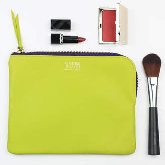 Undercover Leather And Silk Lined Make Up Bag